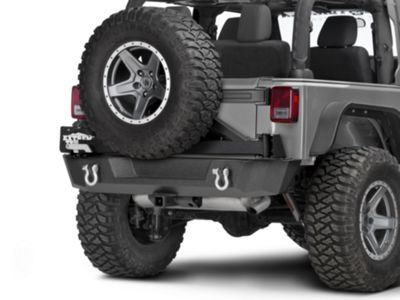 Barricade Extreme HD Rear Tire Carrier (07-17 Wrangler JK)