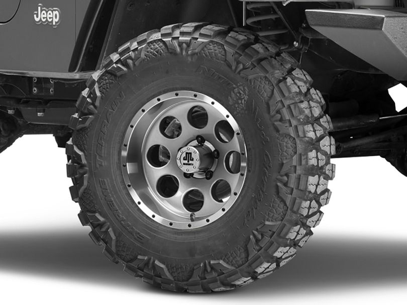 Mammoth 8 Beadlock Style Anthracite Wheel - 15x8 (97-06 Jeep Wrangler TJ)