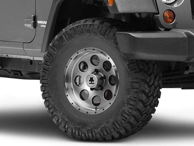 Mammoth 8 Beadlock Style Anthracite Wheel - 16x8 (07-18 Jeep Wrangler JK)