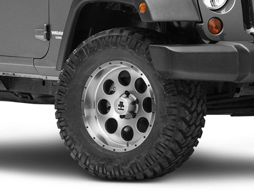 Mammoth 8 Beadlock Style Anthracite Wheel - 17x9 (07-18 Jeep Wrangler JK)