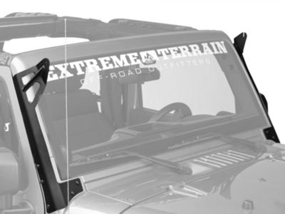 Add Rigid Industries Windshield Mount for 50 in. LED Light Bar