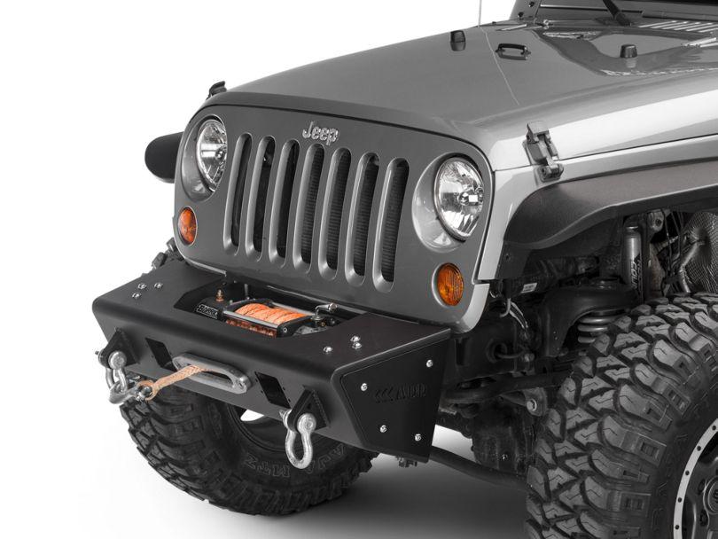 Addictive Desert Designs Stealth Fighter Front Bumper (07-18 Jeep Wrangler JK)