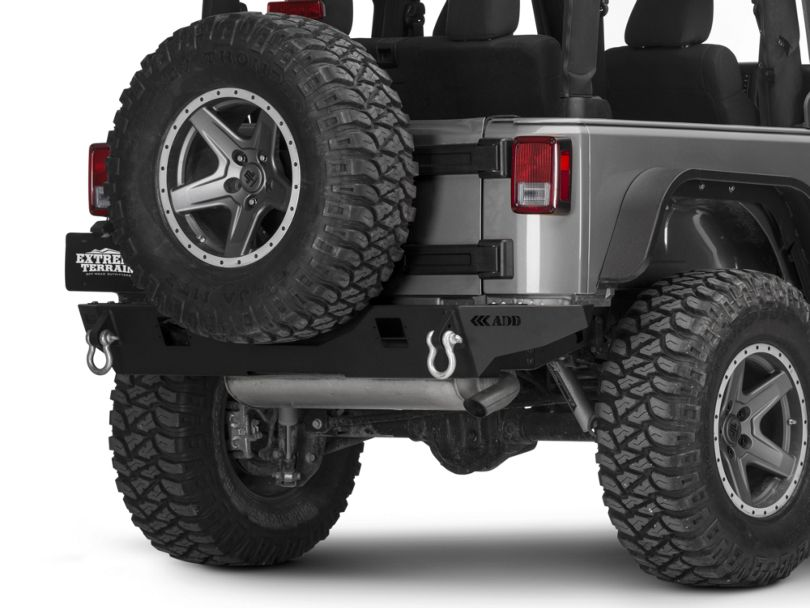 Addictive Desert Designs Stealth Fighter Rear Bumper (07-18 Jeep Wrangler JK)