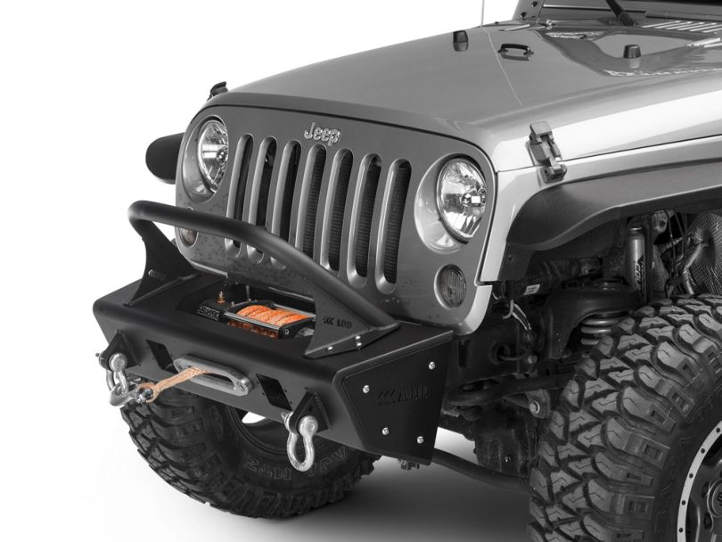 Addictive Desert Designs Stealth Fighter Top Hoop for 6 in. Lights (07-18 Jeep Wrangler JK)