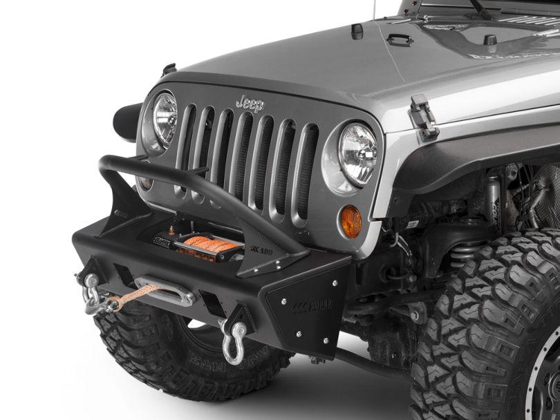 Addictive Desert Designs Stealth Fighter Top Hoop for 8 in. Lights (07-18 Jeep Wrangler JK)