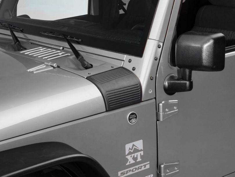 RedRock 4x4 Cowl Body Armor - Pair (07-18 Jeep Wrangler JK)