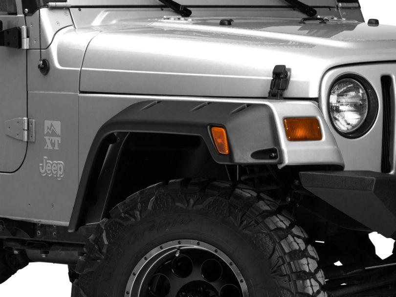 RedRock 4x4 Rivet Style Fender Flare Kit - 6 In. (97-06 Jeep Wrangler TJ)