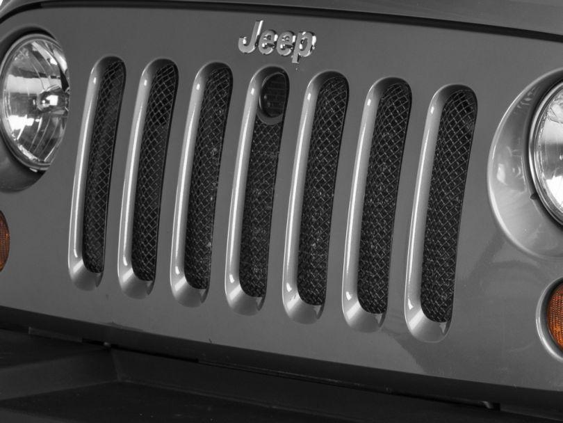 T-REX Sport Series Mesh Grille with Hood Lock Access (07-18 Jeep Wrangler JK)