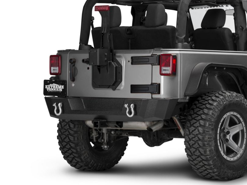 Rugged Ridge Spartacus HD Tire Carrier Wheel Mount (07-18 Jeep Wrangler JK)