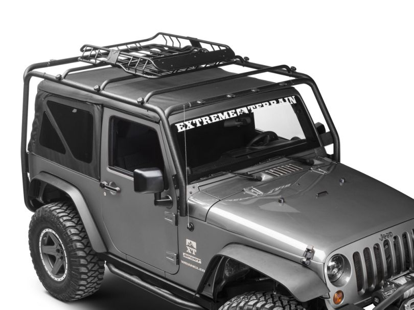 Barricade X-Tray Roof Rack Basket (87-20 Jeep Wrangler YJ, TJ, JK & JL)