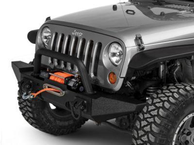 Rugged Ridge XHD Front Bumper Kit w/ Standard Bumper Ends (07-18 Jeep Wrangler JK)
