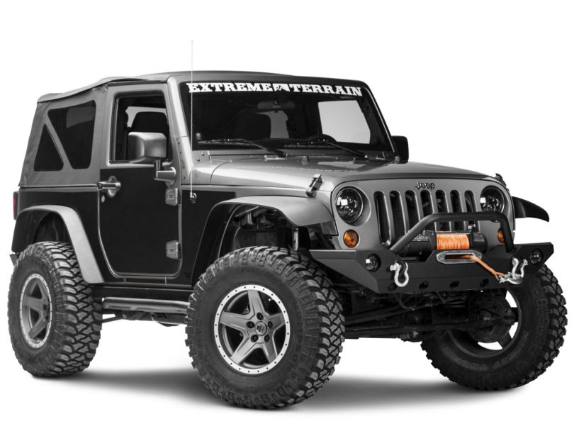 Rugged Ridge Magnetic Protection Panel Kit - Matte Black (07-18 Jeep Wrangler JK 2 Door)
