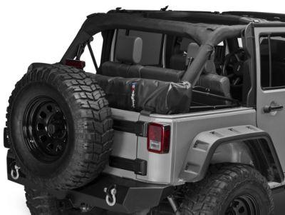 Soft Top Boot - Black (07-18 Jeep Wrangler JK 4 Door)