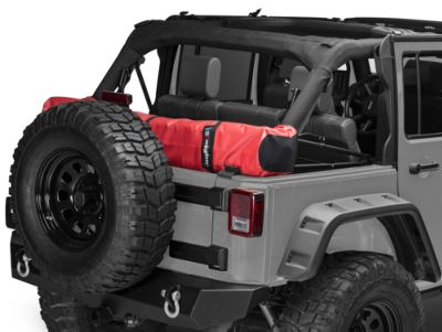 JTopsUSA Soft Top Boot - Red (07-18 Jeep Wrangler JK 4 Door)
