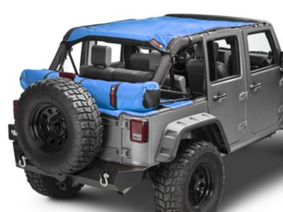Safari Shade Top Set w/ Tonneau & Boot - Blue (07-18 Jeep Wrangler JK 4 Door)