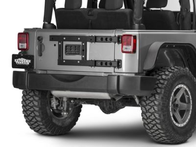 Add MORryde Tailgate Reinforcement Kit (07-17 Wrangler JK)