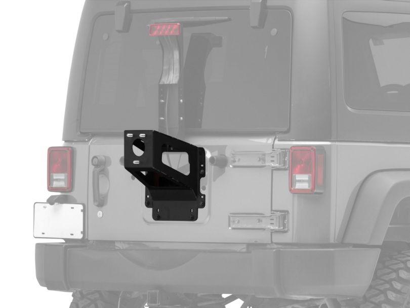 MORryde Heavy Duty Spare Tire Carrier (07-18 Jeep Wrangler JK)