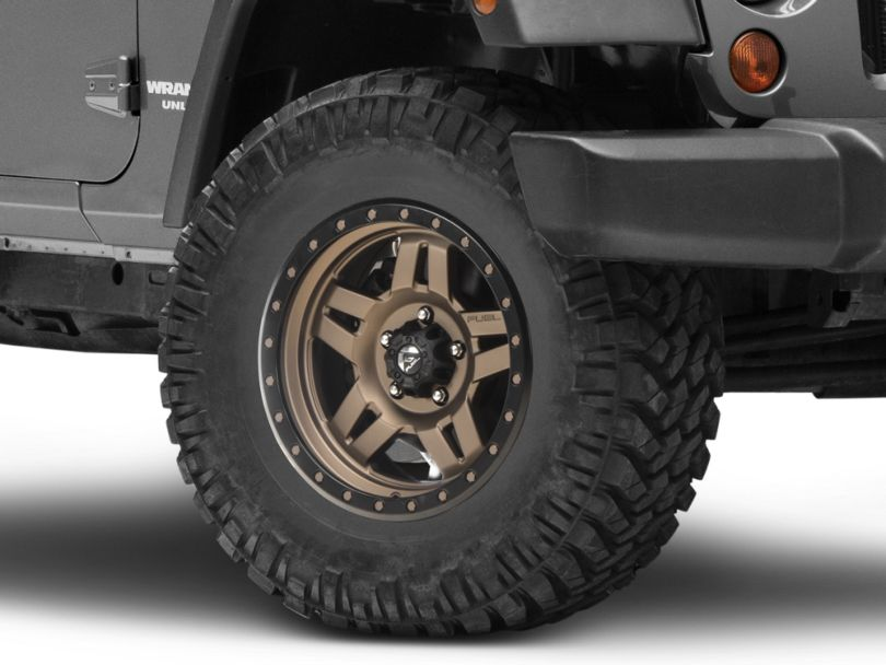 Fuel Wheels Anza Bronze Wheel - 17x8.5 (07-18 Jeep Wrangler JK)