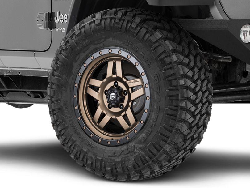 Fuel Wheels Anza Bronze Wheel - 18x9 (18-20 Jeep Wrangler JL)