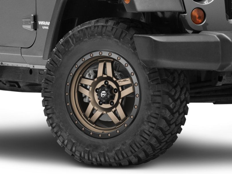 Fuel Wheels Anza Bronze Wheel - 18x9 (07-18 Jeep Wrangler JK)