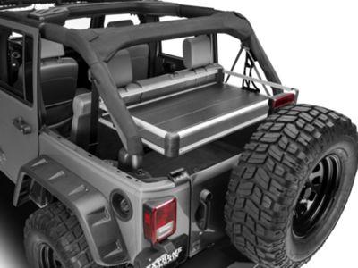 Add Rear Utility Cargo Rack - Silver