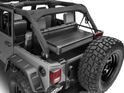 Add Rear Utility Cargo Rack - Black