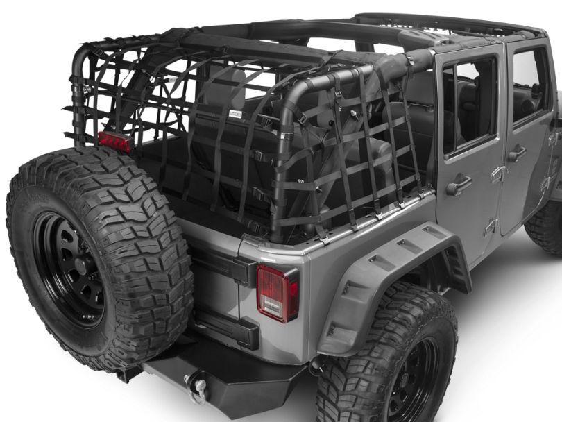 Dark Forest Xtender Net System (07-18 Jeep Wrangler JK 4 Door)
