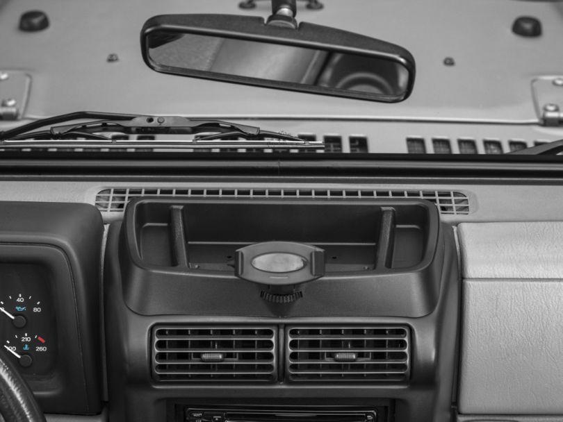 Rugged Ridge Dash Multi-Mount w/ Phone Holder (97-06 Jeep Wrangler TJ)