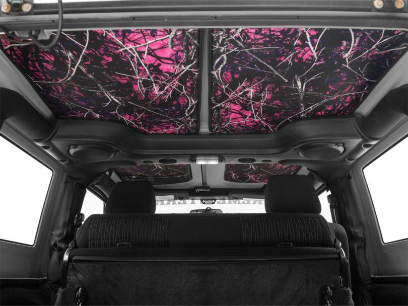 JTopsUSA Hard Top Headliner - Muddy Girl (07-10 Jeep Wrangler JK 2 Door)