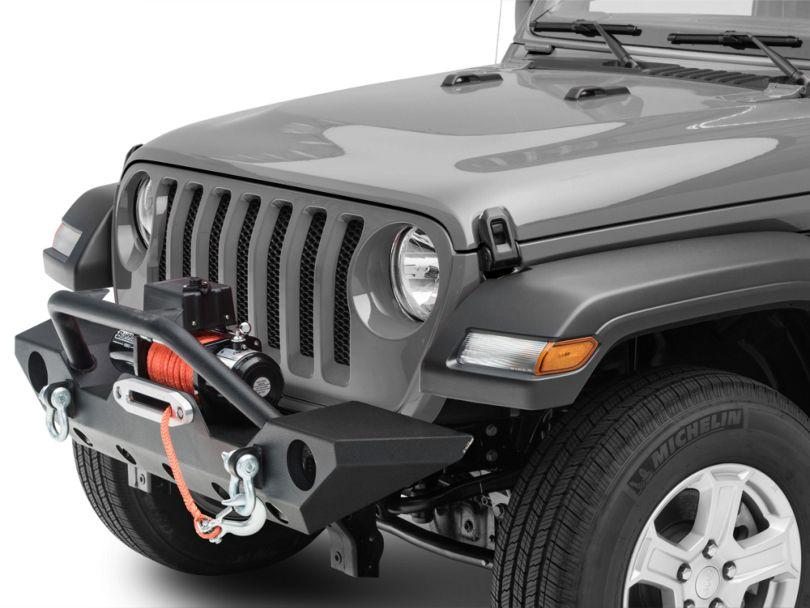Barricade Trail Force HD Front Bumper & Winch Combo (18-20 Jeep Wrangler JL)