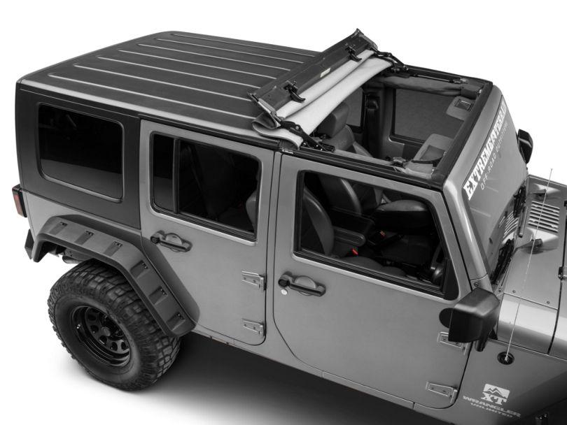 Bestop Sunrider for Hardtop - Black Diamond (07-18 Jeep Wrangler JK)