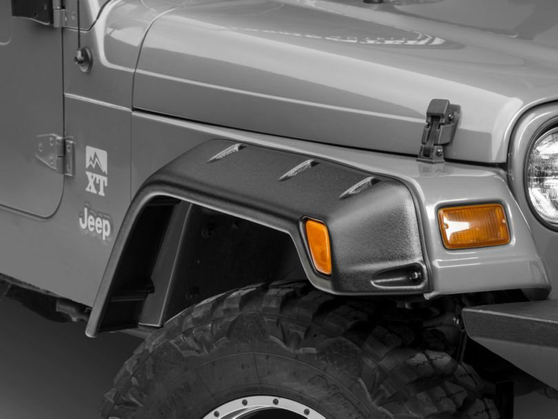 Rugged Ridge Fender Flares (97-06 Jeep Wrangler TJ)