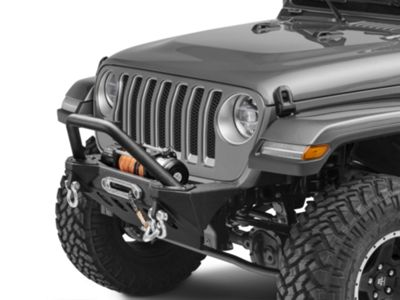 RedRock 4x4 Stubby Front Bumper (18-19 Jeep Wrangler JL)
