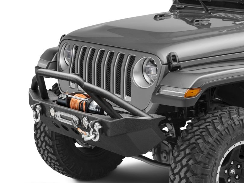 RedRock 4x4 Approach Front Bumper w/ LED Lights (18-20 Jeep Wrangler JL)