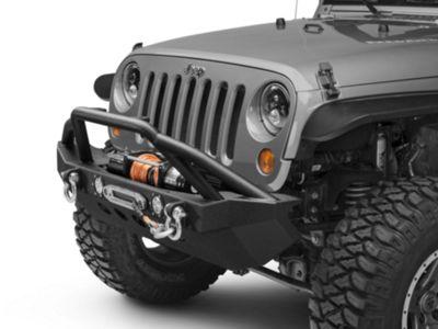 Add RedRock 4x4 Approach Front Bumper w/ LED Lights (07-17 Wrangler JK)
