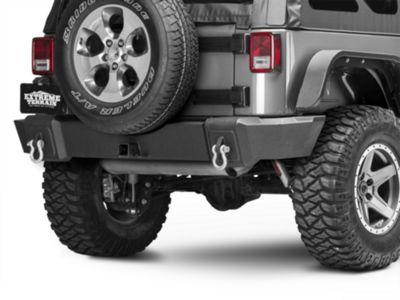 RedRock 4x4 Full Width HD Rear Bumper (07-18 Jeep Wrangler JK)
