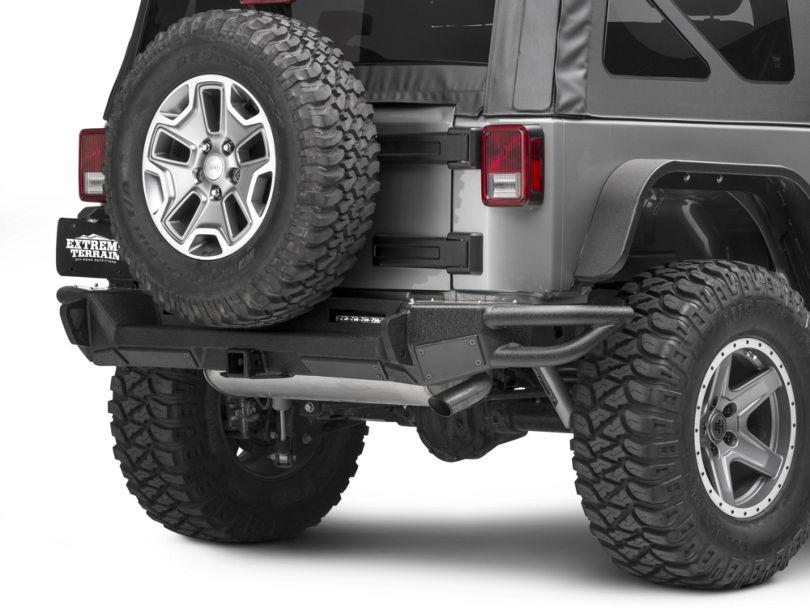 Smittybilt SRC Gen2 Rear Bumper (07-18 Jeep Wrangler JK)