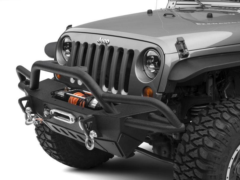 Smittybilt SRC Gen2 Front Bumper (07-18 Jeep Wrangler JK)