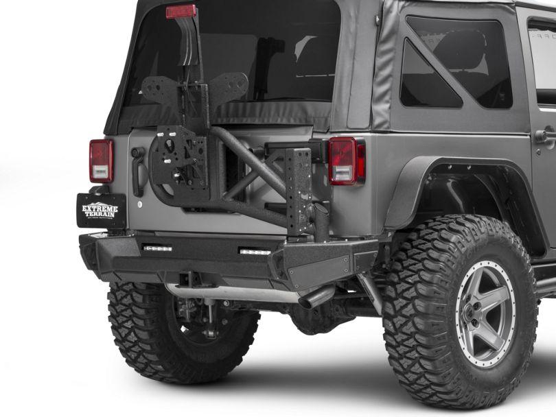 Smittybilt Gen2 Bolt On Tire Carrier (07-18 Jeep Wrangler JK)