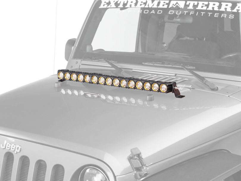 KC HiLiTES 30 in. Flex Array LED Light Bar - Spot/Spread Combo