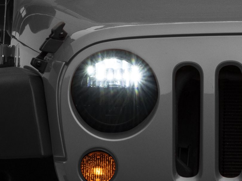 KC HiLiTES Gravity LED 7 in. Headlights (07-18 Jeep Wrangler JK)