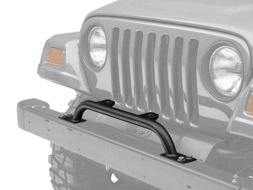 KC HiLiTES 2-Tab Bumper Mount Light Bar - Gloss Black (97-06 Jeep Wrangler TJ)