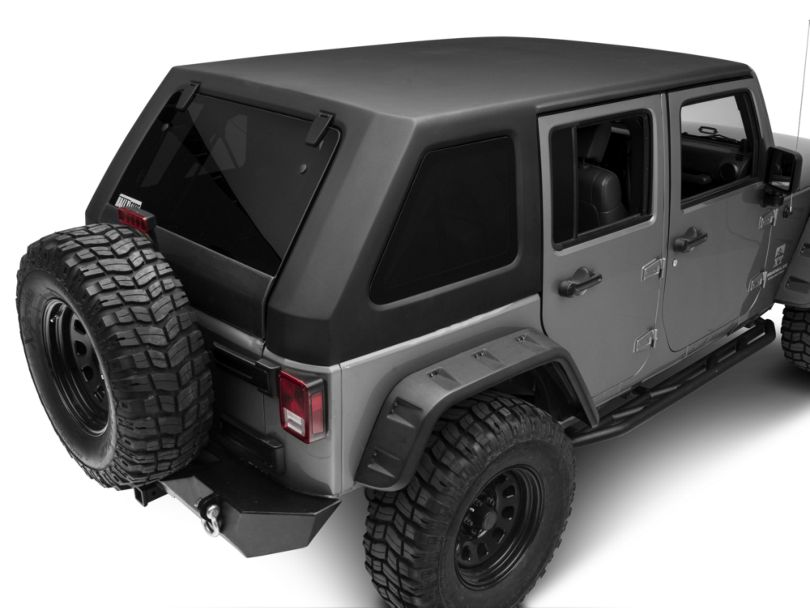 Two Piece Slant Hard Top - Back (07-18 Jeep Wrangler JK 4 Door)