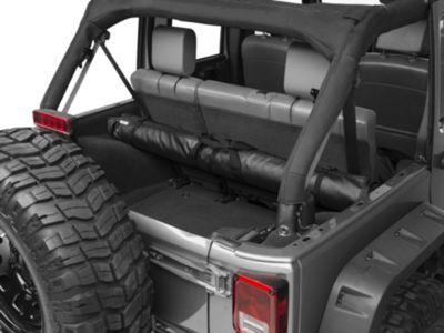 JTopsUSA Tube Soft Top Window and Gear Storage - Black (97-18 Jeep Wrangler TJ & JK)