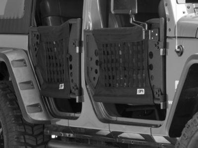 Body Armor 4x4 GEN 3 Trail Doors - Rear Only (07-18 Jeep Wrangler JK 4 Door)