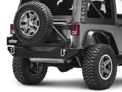Add Swing Arm (07-17 Wrangler JK w/ Body Armor Rear Bumper)
