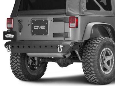 DV8 Off-Road Tramp Stamp Rear Tailgate Cover Plate (07-18 Jeep Wrangler JK)