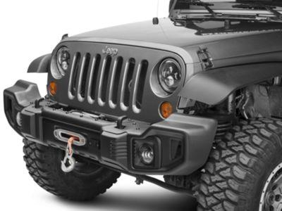 Rugged Ridge Spartacus Front Bumper Kit w/ Winch Plate (07-18 Jeep Wrangler JK)