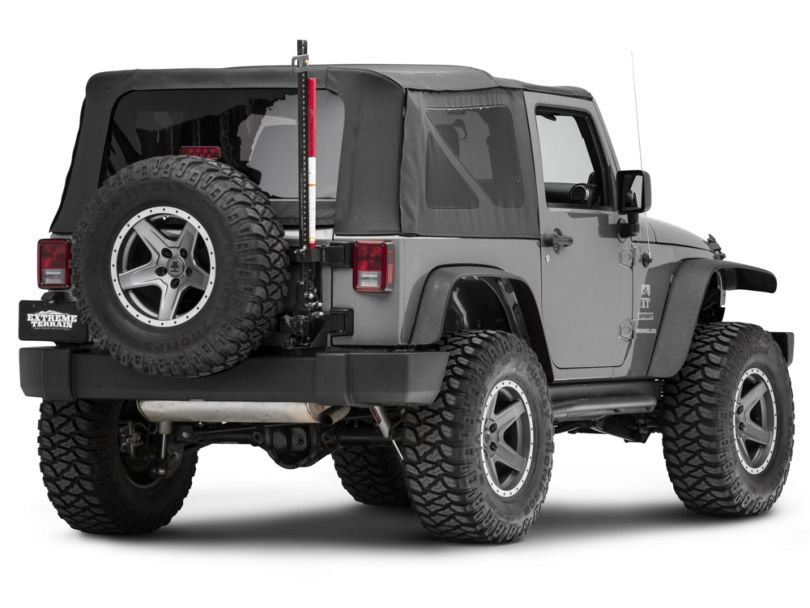 Rugged Ridge Off-Road Jack Tailgate Mounting Bracket with Spacers (07-18 Jeep Wrangler JK)