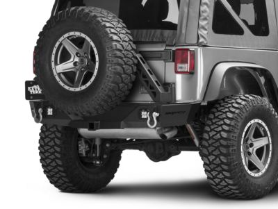 Snyper Recoil Rear Bumper w/ Tire Carrier (07-18 Jeep Wrangler JK)